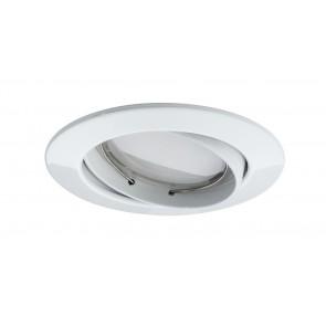 Paulmann Coin dimmbar satiniert schwenkbar LED 3x7W 2700K 230V Weiß