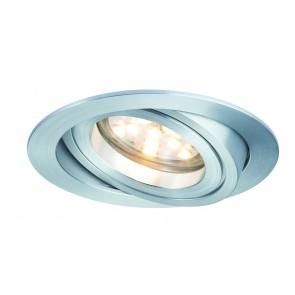 Coin dimmbar klar schwenkbar LED 1x7W 2700K Alu