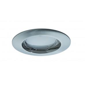 Coin dimmbar satiniert starr LED 3x7W 2700K Eisen