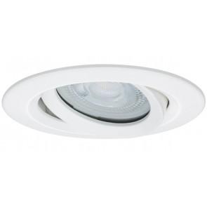 Premium, EBL LED, 1x Nova IP65 schwenkbar LED 1x7W 230V GU10 Weiß matt
