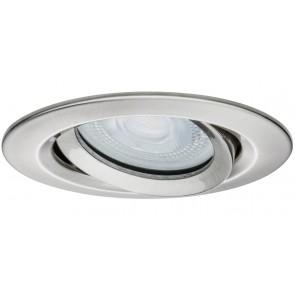 Premium, EBL LED, 1x Nova IP65 schwenkbar LED 1x7W 230V GU10 Eisen geb