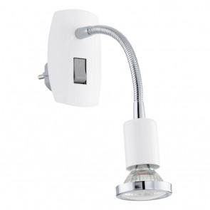 Mini 4, LED, Flexibler Arm, Weiß