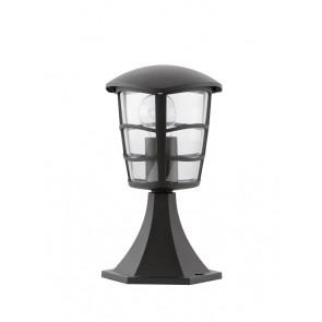 EGLO Aloria, 1-flammig, Höhe 30 cm, IP44, schwarz