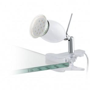 Banny 1, Klemme, inkl LED, weiß