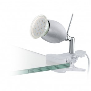 Banny 1, Klemme, inkl LED, silber