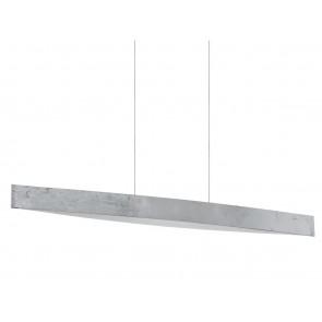 Fornes, LED, Länge 97 cm, Silber