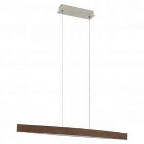 Fornes, LED, Länge 97 cm, Nuss