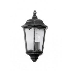 Navedo, E27, IP44, Höhe 43 cm, schwarz