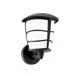 Aloria-LED, IP44, Höhe 22,5 cm, inkl. LED, schwarz