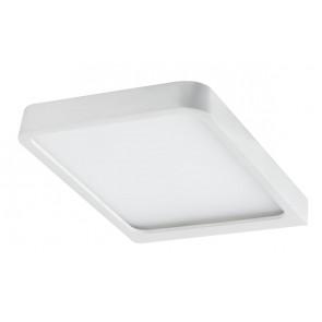 Paulmann Möbel ABL Set Vane eckig LED 2x8W 15VA 230/12V 105x140mm Weiß matt/Alu