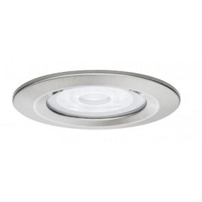 Premium, EBL LED, 1x Nova rund dim LED 1x7W 230V GU10 Eisen geb