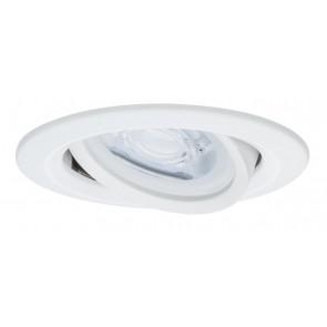 Premium, EBL LED, 1x Nova rund schwb dim 7W 230V GU10, Weiß matt
