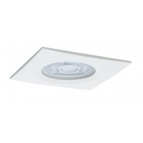 Premium, EBL LED, 1x Nova eckig dim 7W 230V GU10 Weiß matt