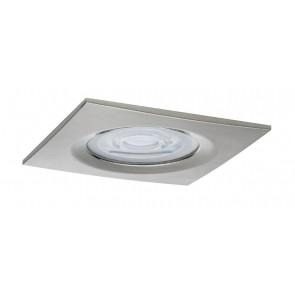 Premium, EBL LED, 1x Nova eckig dim LED 1x7W 230V GU10 Eisen geb