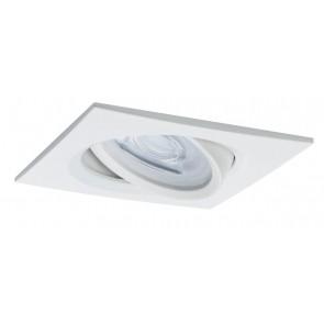 Paulmann Premium, EBL LED, 3er Set Nova, eckig, schwenkbar, dimbar, 7W, GU10, Weiß matt
