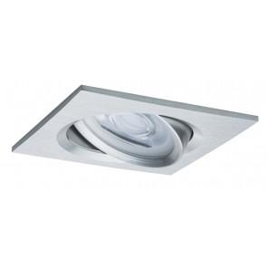 Premium, EBL LED, 3er Set Nova, eckig schwb dim LED 3x7W 230V GU10 Alu ged