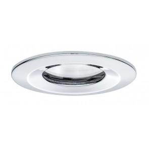 Premium, EBL LED, 1x Nova rund dim LED IP65 1x7W 230V GU10 Chrom