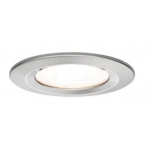 Premium, EBL LED, 3er Set Nova, rund starr LED 3x6,1W 230V Eisen geb/Alu