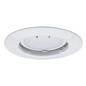 EBL LED, 1x, rund starr LED 1x4,5W 230V Weiß/Metall