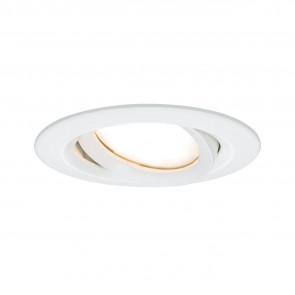 Nova Plus Ø 9,3 cm weiß 1-flammig rund