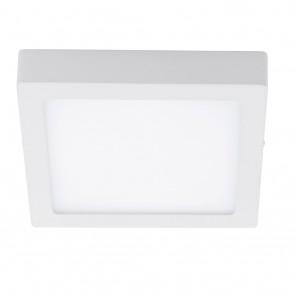 Fueva 1, LED, eckig, 22,5 x 22,5 cm, Höhe 3,5 cm, 4000K, weiß