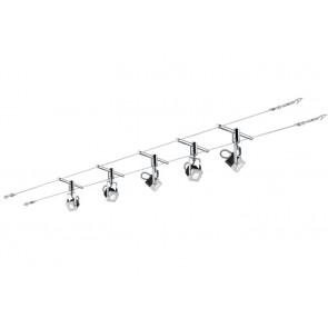 Paulmann Set Mezzo, weiß, LED, 5 x 5 W