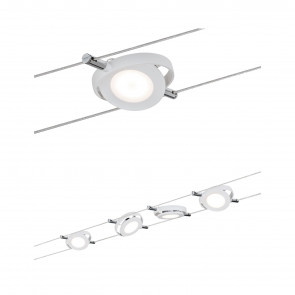 RoundMac Seil-Set, LED, 4-flammig, weiß