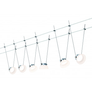 Set IceLED I, LED, 6-flammig, chrom