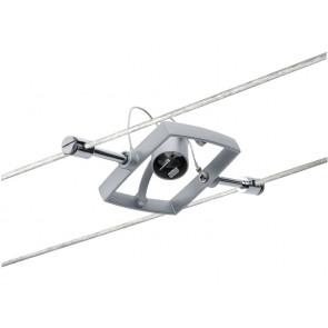 WireSystem Spot MacII 7 x 7 cm metallisch 1-flammig quadratisch