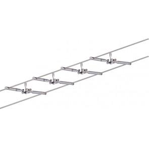 WireSystem Togo, max 4x10W GU5.3 Chrom 230/12V 80VA Metall