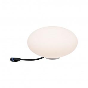 Plug & Shine Stone Ø 28 cm weiß 1-flammig rund