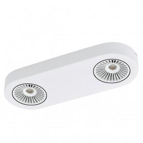 Montale, 2-flammig, inkl LED, Weiß- Schwarz