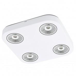 Montale, 4-flammig, inkl LED, Weiß- Schwarz