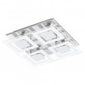 Almana, LED, 4-flammig, Chrom