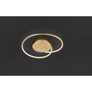Opus Breite 35 cm gold 1-flammig rund