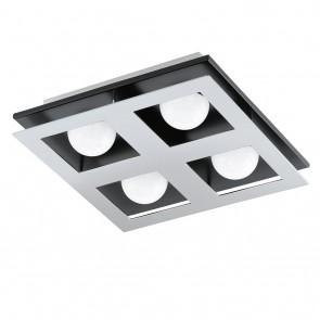Bellamonte, 27x 27 cm, 4-flammig, inkl LED