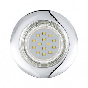 Peneto, Ø 7,8 cm, 3er-Set, inkl LED, Chrom