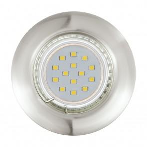 Peneto, Ø 7,8 cm, 3er-Set, inkl LED, nickel matt