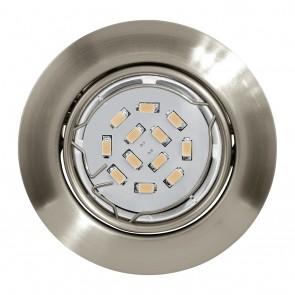 Peneto, Ø 8,7 cm, inkl LED, nickel matt