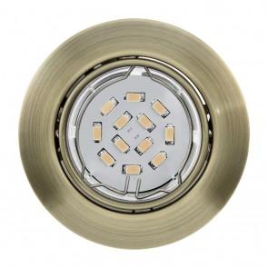 Peneto, Ø 8,7 cm, inkl LED, brüniert