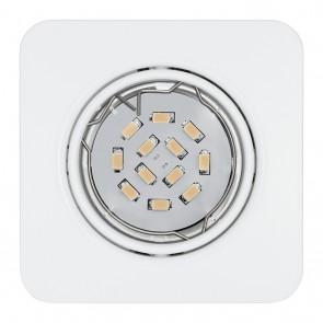 Peneto, 8,7 x 8,7 cm, 3er-Set, inkl LED, Weiß