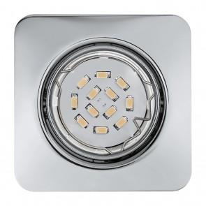 Peneto, 8,7 x 8,7 cm, 3er-Set, inkl LED, Chrom