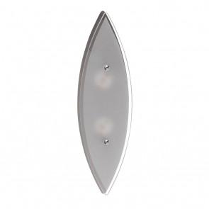 Brilliant Oval LED 3Wx2 WA/DE+SCHALTER