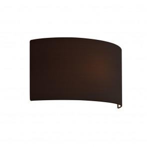 Schirm 4136 Breite 32 cm schwarz halbrund