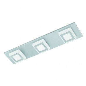 Masiano, LED, 3-flammig, metallisch