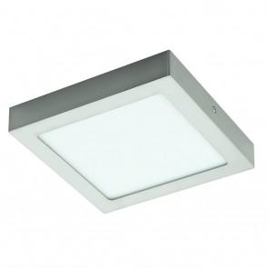Fueva 1, LED, 22,5 x 22,5 cm, 3000K, nickel-matt