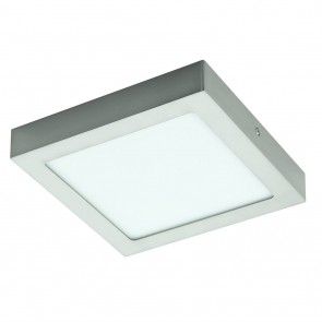 Fueva 1, LED; 22,5 x 22,5 cm, 3000K, Nickel-matt
