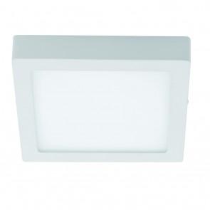 Fueva 1, LED, 30 x 30 cm, Höhe 4 cm, 4000K, weiß
