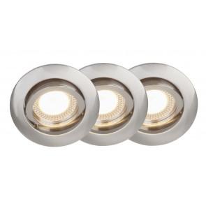 Easy Clip 3er-Set Ø 29 cm metallisch 1-flammig rund