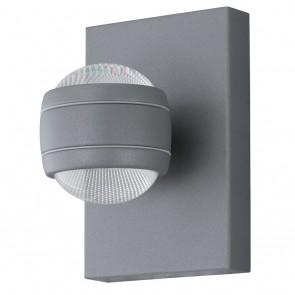 Sesimba, LED, 2-flammig, Silber